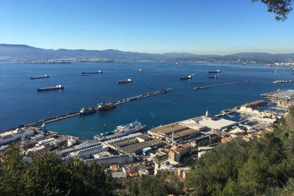 Gibraltar View Of Port