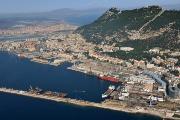 Drydocks Aerial Picure Of Gibraltar