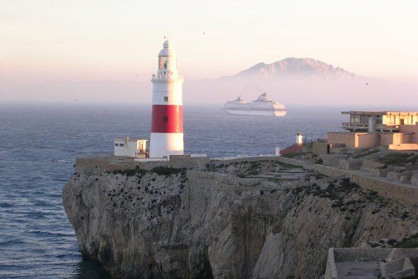 Europa Lighthouse In Gibraltar