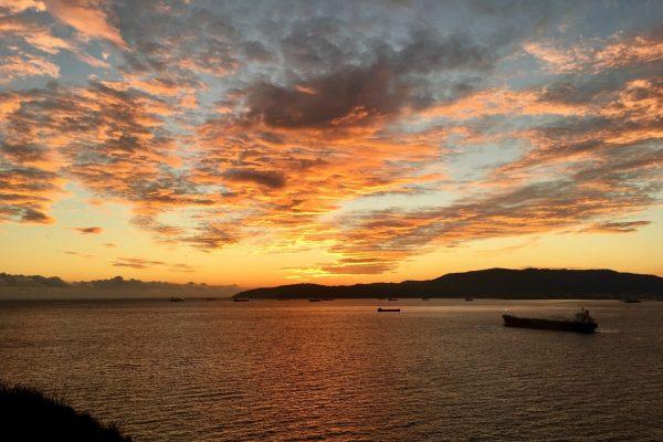 Sunset In Gibraltar